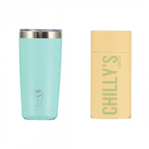 chillys bottles pastel green tumbler